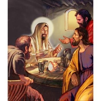 Jesus at Emaus