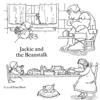 More Jackie and the Beanstalk