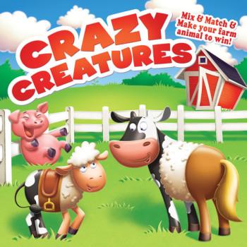 toy box-farm animals-crazy creatures