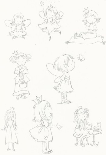 little girls and fairies