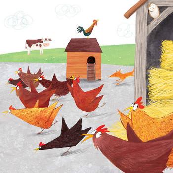 Farmyard panic