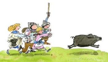 Catch that pig