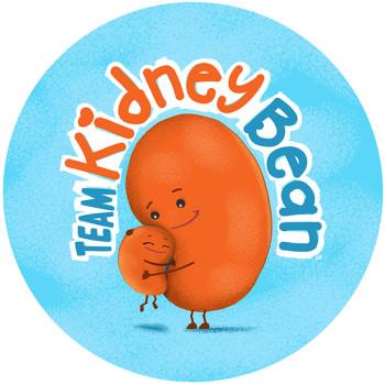 Logo design: Team Kidney Bean