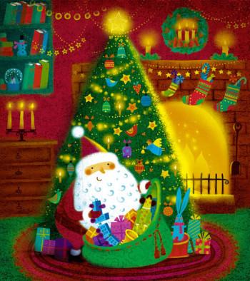 Christmas Jumbo Gift Bag