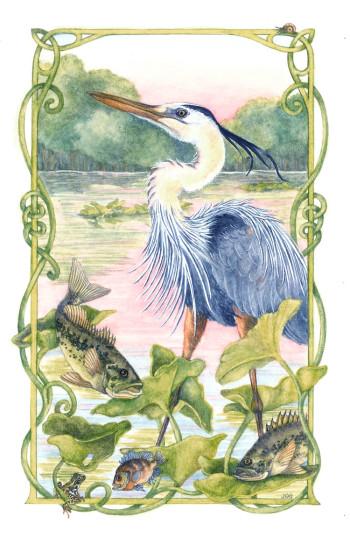 The Heron's Tale