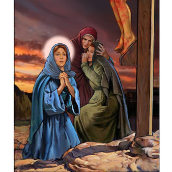 Mary at the Cross