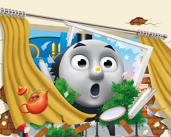 Cover art for Thomas Goes Crash!