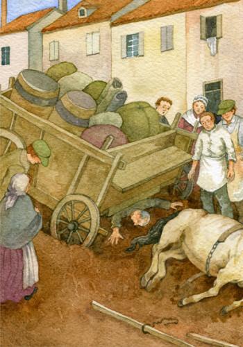 Les Miserables, Fauchelevent's Cart