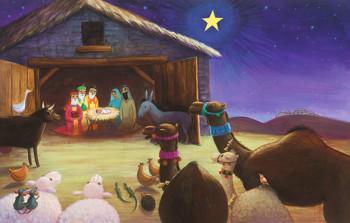 A Star for Me - Nativity scene