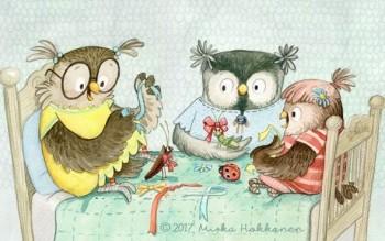 Owl Friends Sleepover