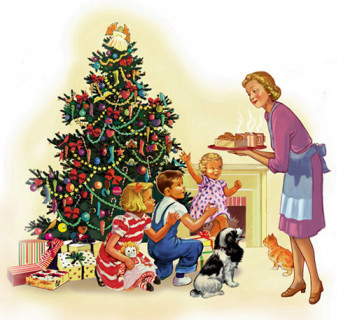 christmas eve with dick and jane