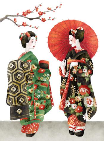 Japanese Maiko Girls