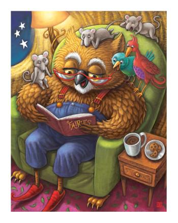Mr. Owl's Bedtime Story