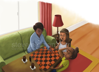 Playing Checkers with Grandma