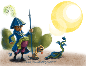 Pirate George and the Dragon