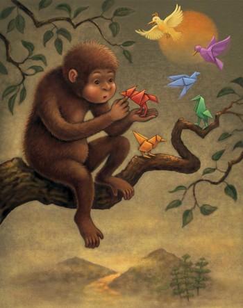 Monkey's Mind's Eye