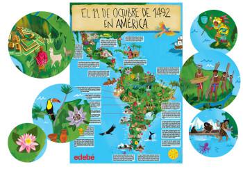 Latinamerica, 1492. Edebé (Argentina).