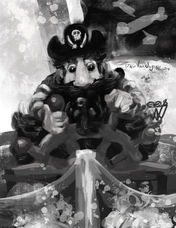 Black Beard Pirate