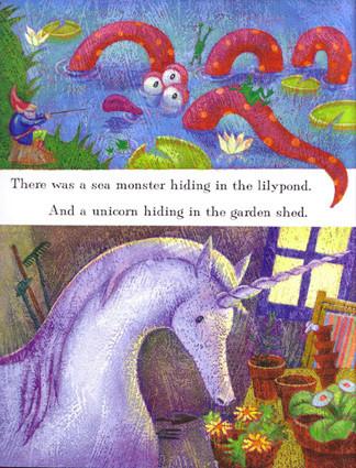 unicorn and sea monster