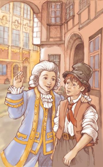 Mozart and a pauper