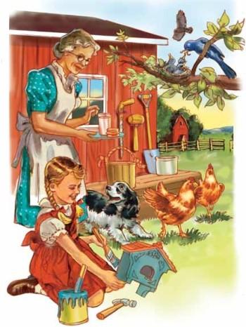 grandma's farm