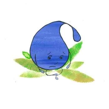 Patty Sees a Blue, Patty is very sad