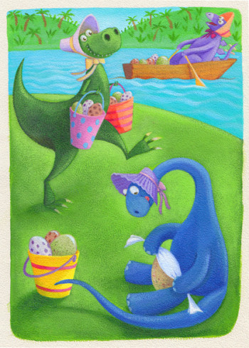 Dinosaur eggstravaganza
