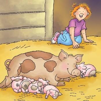 Sleepy Piggies