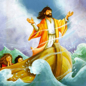Jesus and the fishermen.