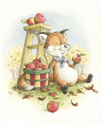 A Fox in Autumn