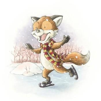 A Fox in Winter