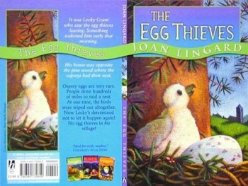 The Egg Thieves - book cover