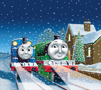 Cover art for The Snowy Special