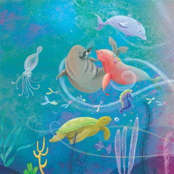 Under the sea love dance