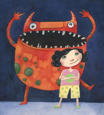 Dot's Monster - Cover