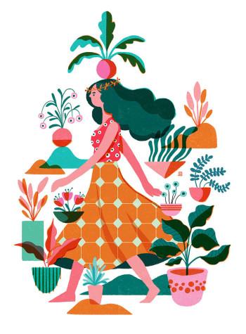 Botanical girl