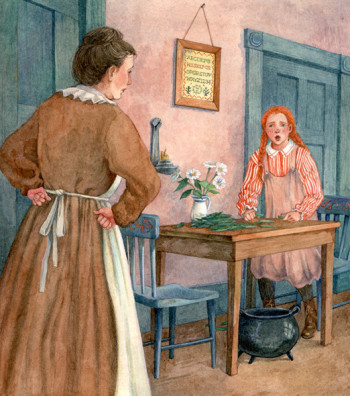 Anne of Green Gables: 'I put it back, I did, Maril