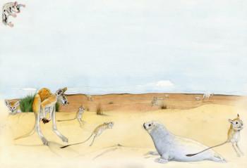 Desert - Funny Animal Atlas
