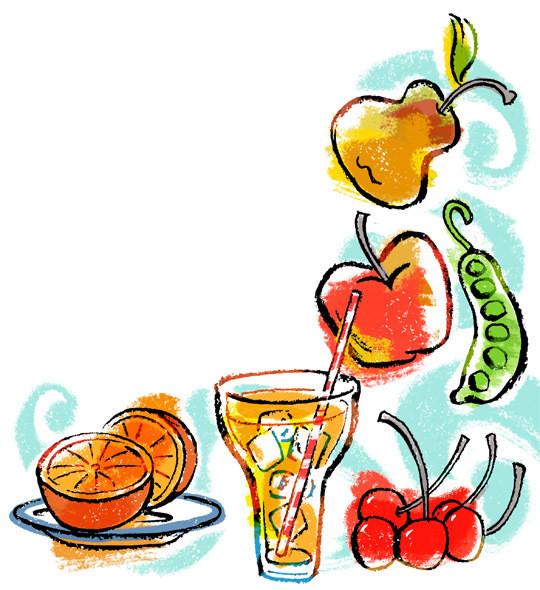 Fruit in a poem