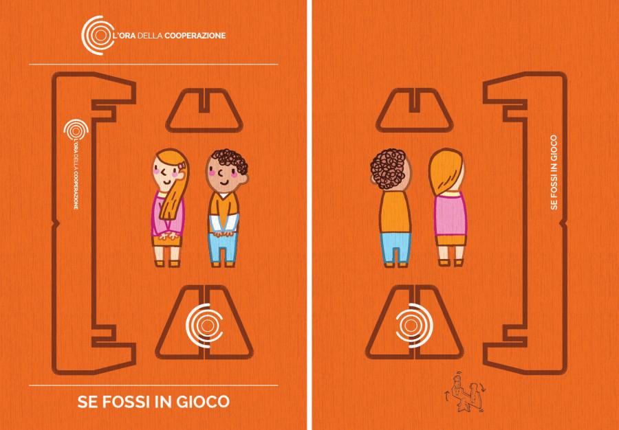 Visual communication for Legacoop Lombardia