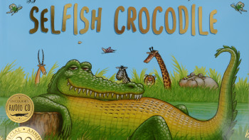 'The Selfish Crocodile' children's picture book, 20th Anniversary edition out mid June 2018
