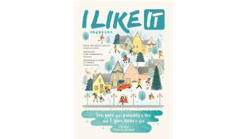 Elisa Ferro - Magazine cover